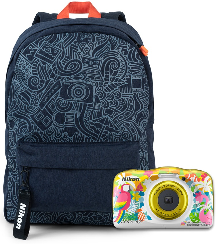 Фото - Nikon Coolpix W150 RESORT BACKPACK KIT benro colorful 100 dslr camera bag high quality backpack professional anti theft outdoor men women for canon nikon