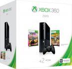 ������� ��������� Microsoft Xbox 360 250 �� + ���� Borderlands 2 + ���� Forza Horizon