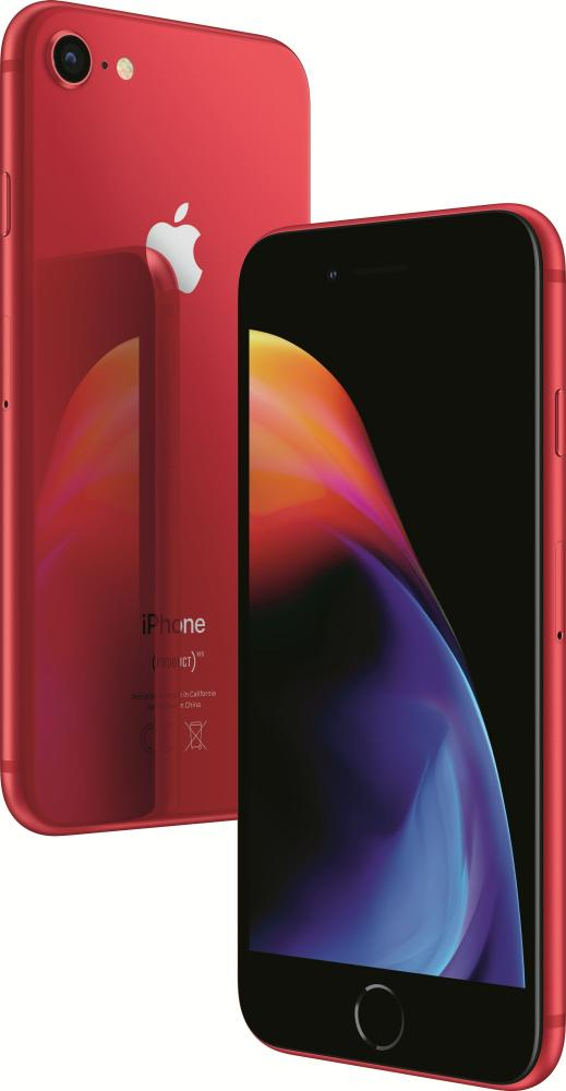 Мобильный телефон Apple iPhone 8 (PRODUCT)RED™ Special Edition 256GB (красный) сотовый телефон apple iphone 8 256gb product red special edition mrrn2ru a