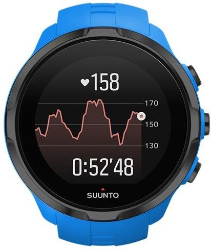 Спортивные часы Suunto SPARTAN SPORT WRIST HR BLUE super speed v6 v0222 men s silicone band analog quartz wrist watch black blue 1 x lr626