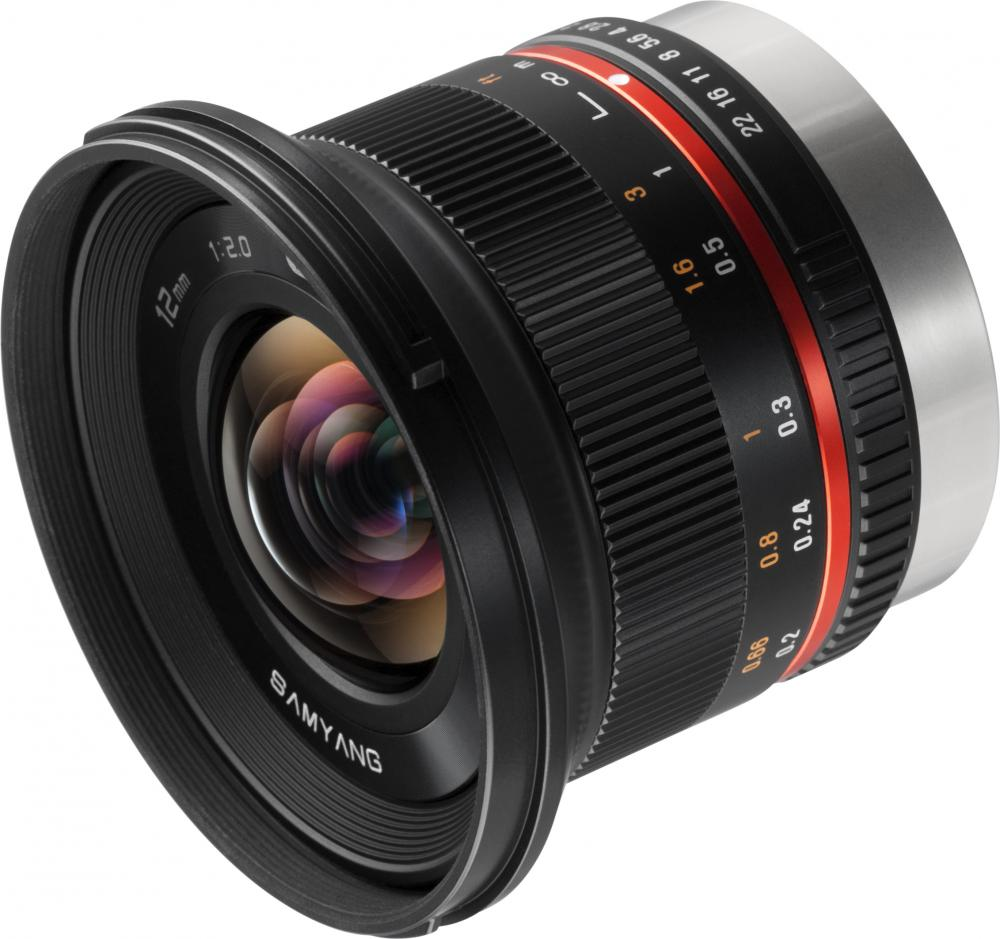 MF 12mm f/2.0 ED AS NCS CS Fuji X (черный)