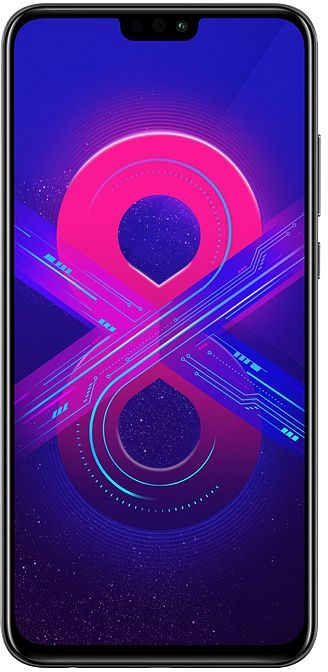 Honor 8X 128GB (черный)