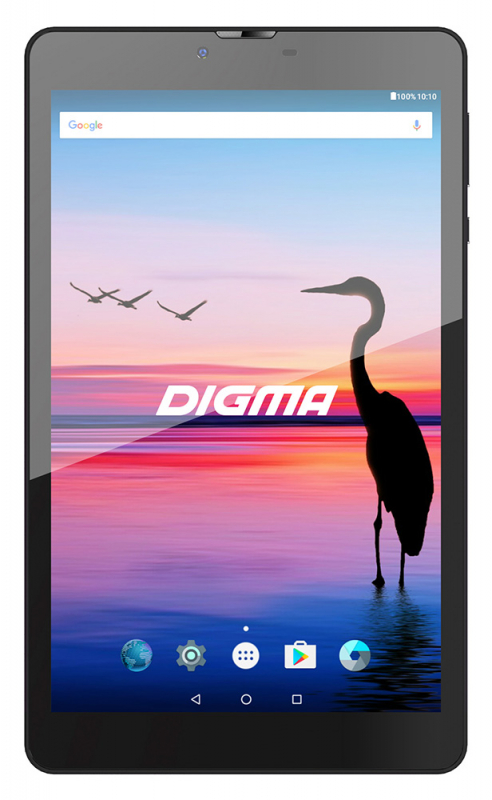 Планшет Digma Plane 8548S 8 3G 8Gb (8/1280x800/1024Mb/WIFI/Android 7.0 Nougat) witblue new touch screen for 8 digma plane 8548s 3g ps8161pg tablet touch panel digitizer sensor glass replacement parts