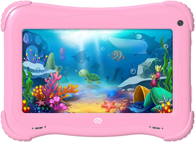 Digma Optima Kids 7 (розовый) for digma optima 10 2 optima 10 7 optima 10 8 optima 10 5 10 1 360 degree rotating universal tablet pu leather cover case