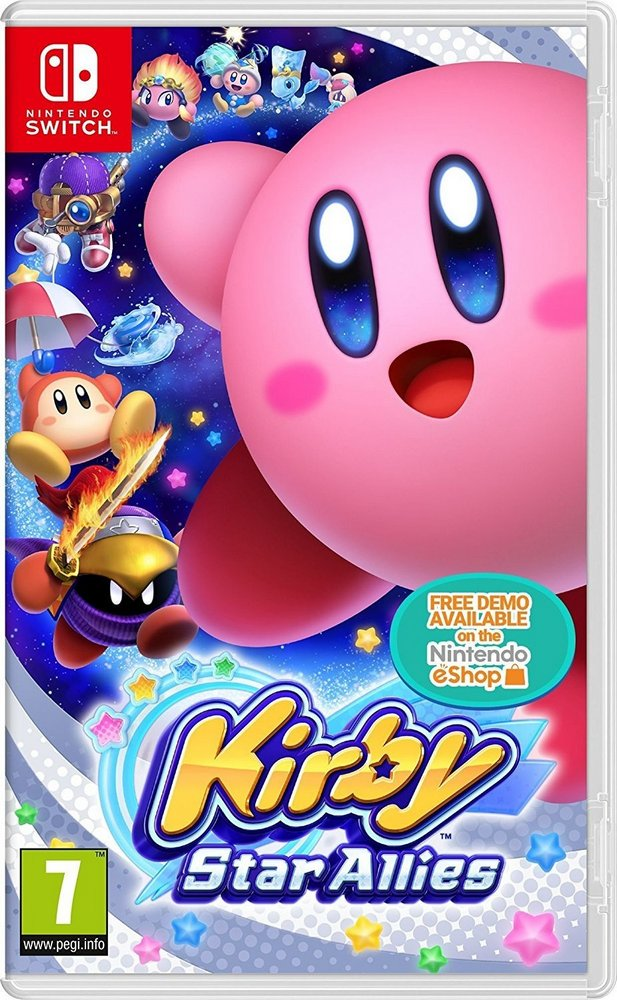 Nintendo Kirby Star Allies для Nintendo Switch nba 2k18 nintendo switch