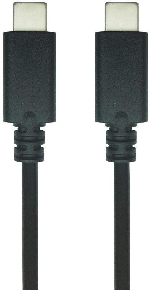 HIPER Type C Male to C Male 3.0 1 м (черный) cy u3 199 wh usb 3 0 type c male to type a male data cable