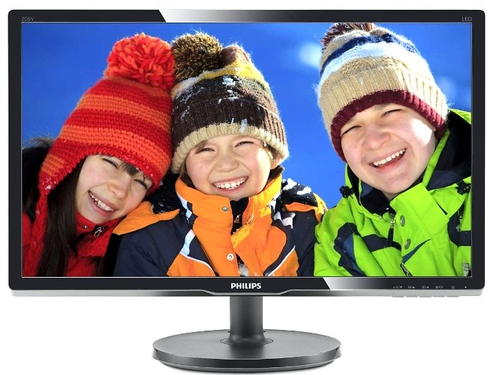 Монитор Philips 206V6QSB6 (черный) монитор philips 206v6qsb6 black