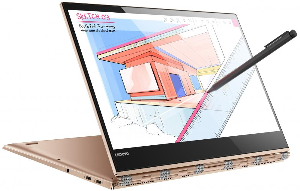 Ноутбук Lenovo IdeaPad YOGA 920-13IKB 80Y7001URK (Intel Core i5 8250U 1600 Mhz/13.9/1920х1080/8192Mb/256Gb HDD/DVD нет/Intel® HD Graphics 620/WIFI/Windows 10 Home) new original for lenovo ideapad yoga 3 14 lcd rear lid back cover screen top lid white ap0yc000500