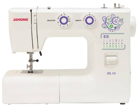 JANOME  PS-19 (белый)