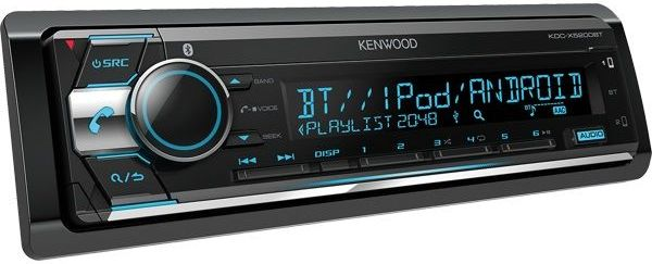 Автомагнитола Kenwood KDC-X5200BT автомагнитола kenwood kdc x5200bt usb