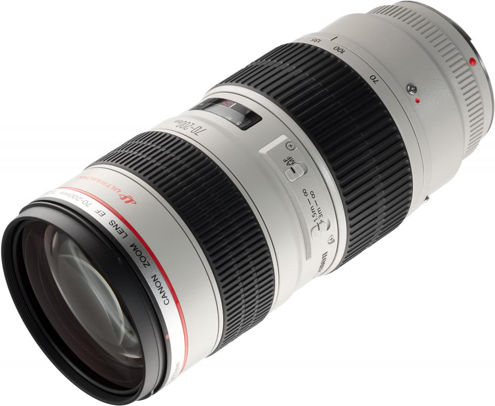 Объектив Canon EF 70-200mm f/2.8L USM объектив canon ef 70 300mm f 4 5 6l is usm