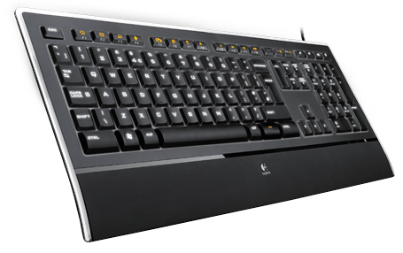 Logitech Illuminated Keyboard K740 (черный)