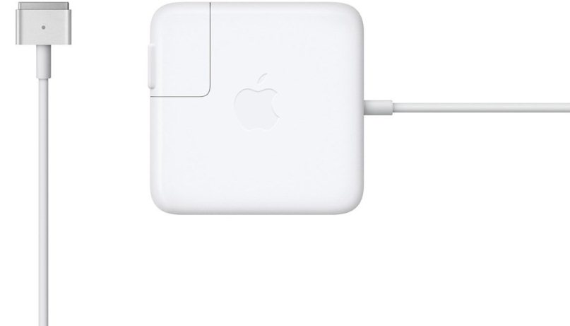 Сетевое зарядное устройство Apple 45W MagSafe 2 Power Adapter (белый) 45w 19v ac power adapter charger for toshiba satellite c55 a5281 new genuine []