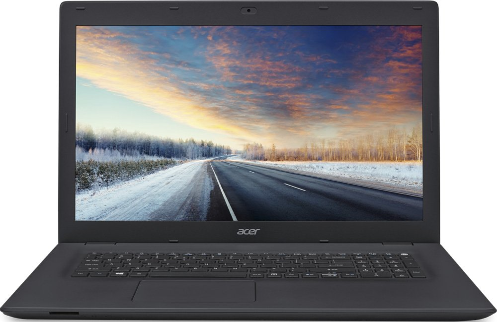 "Ноутбук Acer TravelMate TMP278-M-33B5 (Intel Core i3-6100U 2300 Mhz/17.3""/1366x768/4096Mb/1000Gb HDD/DVD-RW/Intel® HD Graphics 520/WIFI/Windows 10 Professional x64)"