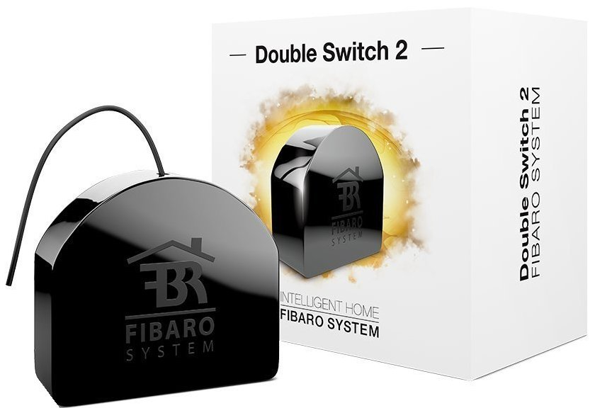 Двойной переключатель с дистанционным управлением FIBARO SMART HOME DOUBLE SWITCH 2 free shipping broadlink rm pro rm03 smart home automation wifi ir rf universal intelligent remote control switch for