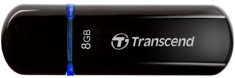 Transcend JetFlash 600 8Gb (черный)