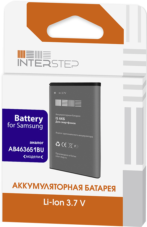 Аккумулятор InterStep для Samsung C3200/S5610/C3322