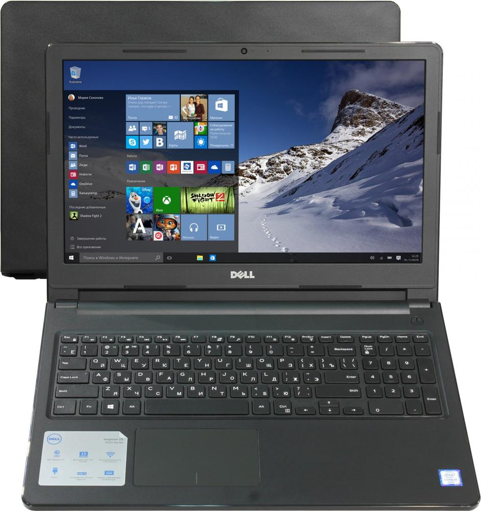 Ноутбук Dell Inspiron 3567-1069 (Intel Core i3 6006U 2000 Mhz/15.6/1920х1080/4096Mb/1000Gb HDD/DVD-RW/AMD Radeon R5 M430/WIFI/Linux) ноутбук dell inspiron 3567 3567 7855