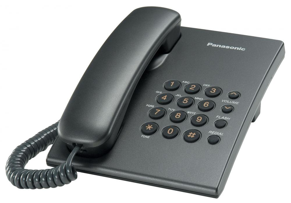 Panasonic KX-TS2350RUT (титан) проводной и dect телефон foreign products vtech ds6671 3