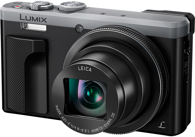 Panasonic Lumix DMC-TZ80 (серебристый)