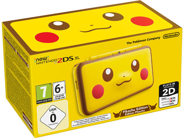 Nintendo New 2DS XL Pikachu Edition protective front back film protector for nintendo 2ds