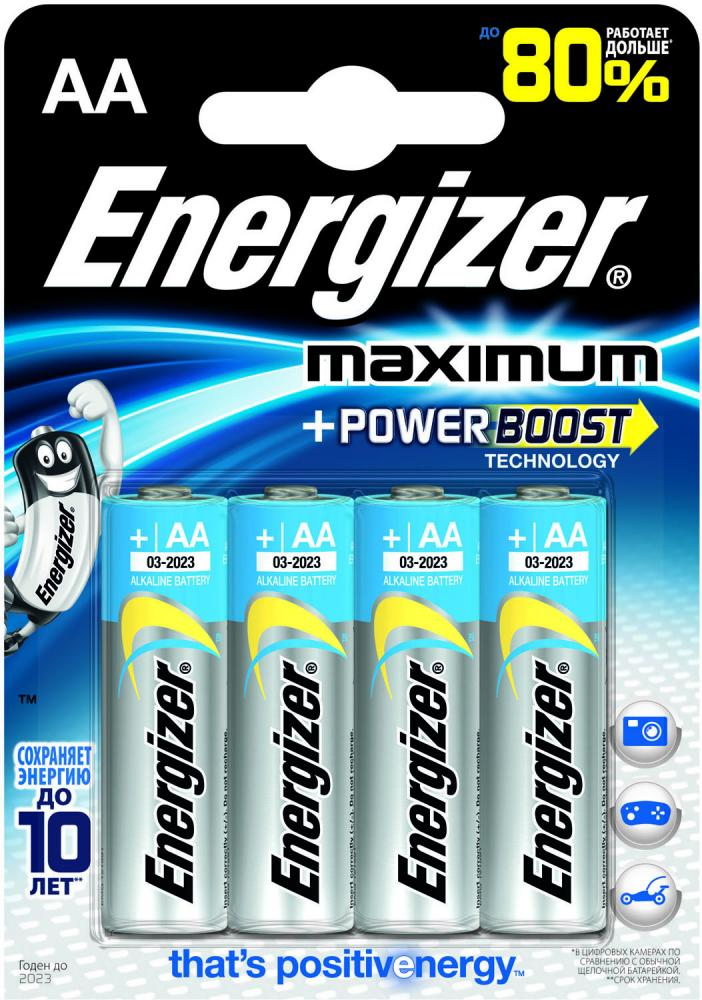 Energizer Maximum AA FSB4 (блистер 4 шт.)
