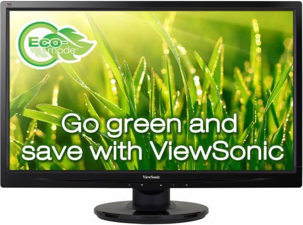 ViewSonic VA2445-LED (черный)