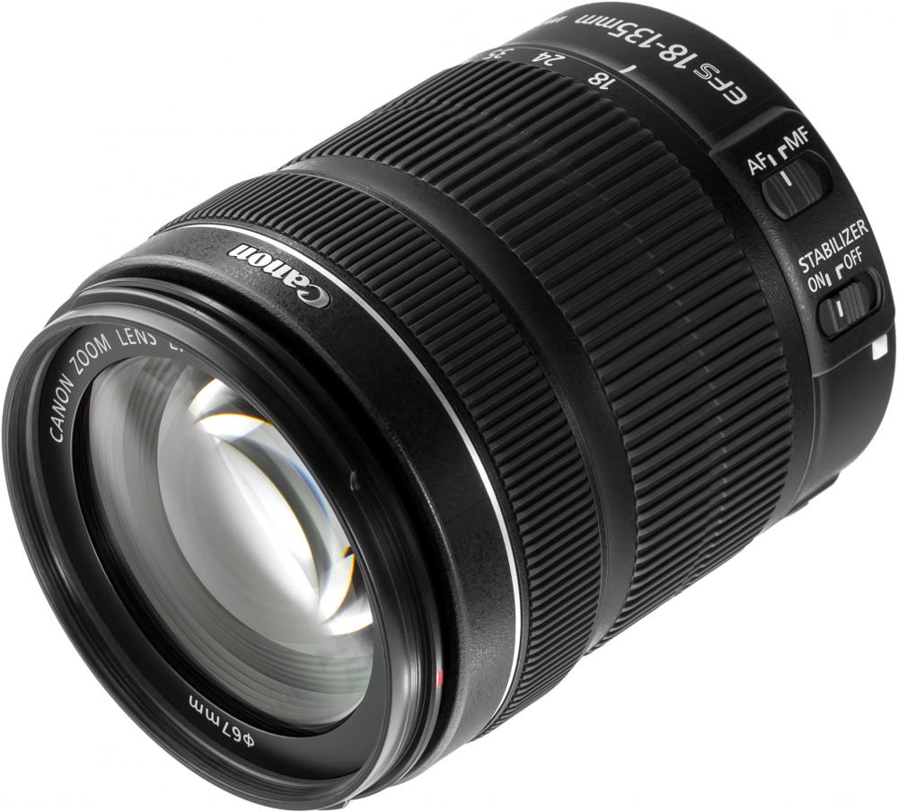 Canon EF-S 18-135mm f/3.5-5.6 IS STM (черный) объектив canon ef s is stm 1620c005 18 55мм f 4 5 6 черный