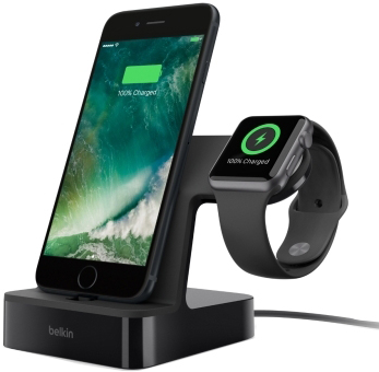 цена на Belkin PowerHouse для Apple Watch + iPhone (F8J200vfBLK)