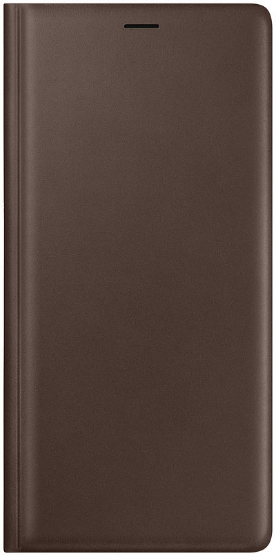 Чехол-книжка Samsung Wallet Cover EF-WN960 для Galaxy Note 9 (коричневый) protective aluminum alloy pc back case for samsung galaxy note 3 n9000 more red black