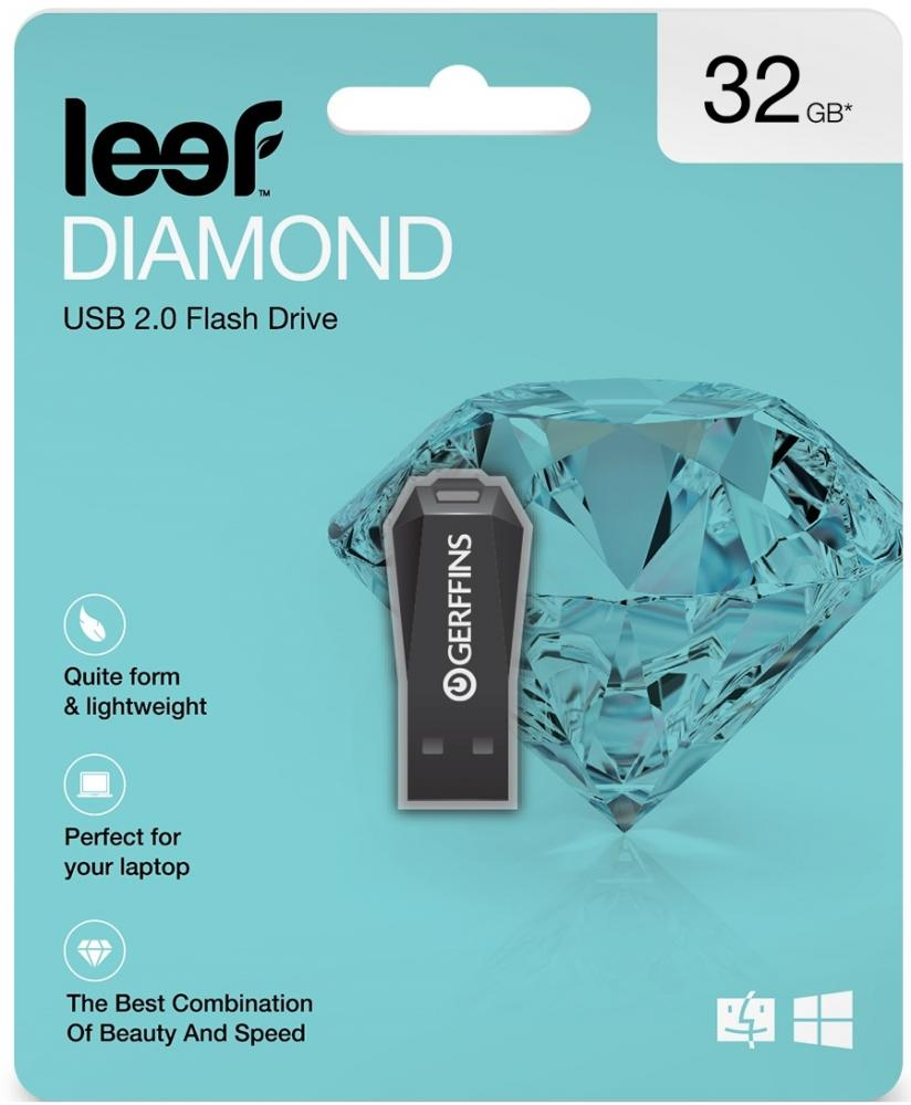 Фото - Leef Diamond 32Gb USB 2.0 usb флешка leef ibridge 3 32gb черный