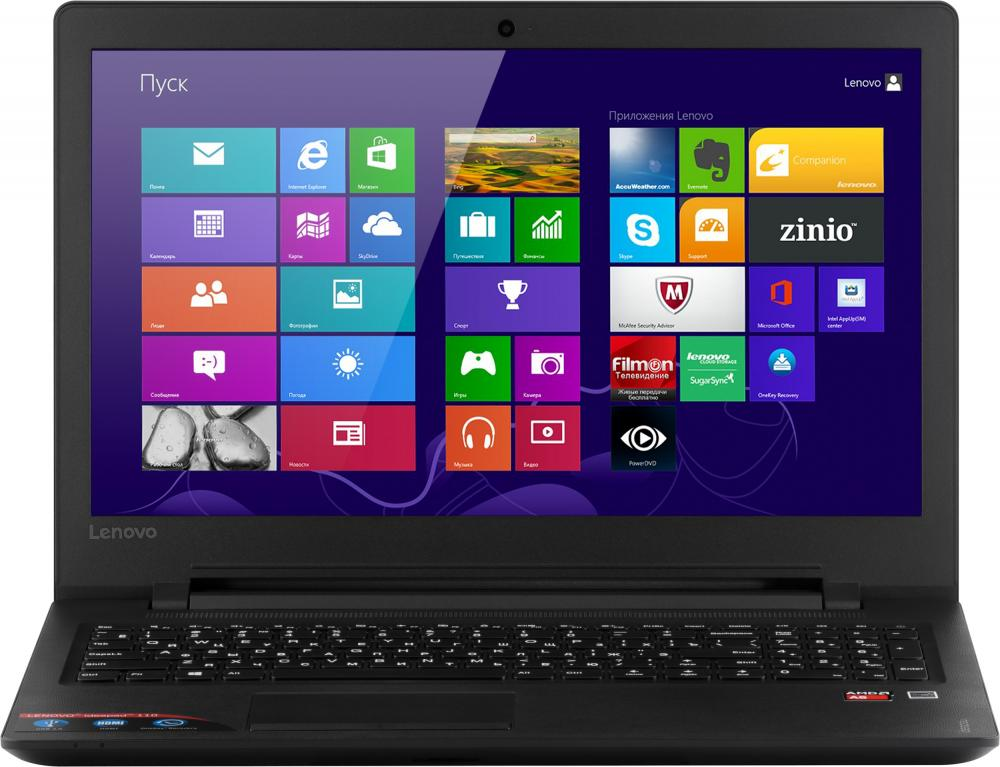 "Ноутбук Lenovo IdeaPad 110-15ACL 80TJ00D6RK (AMD A6 7310 2400 Mhz/15.6""/1366x768/4096Mb/500Gb HDD/DVD нет/AMD Radeon R2/WIFI/Windows 10 Home)"