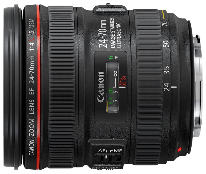 Canon EF 24-70mm f/4L IS USM объектив canon ef 24mm f 2 8 is usm черный