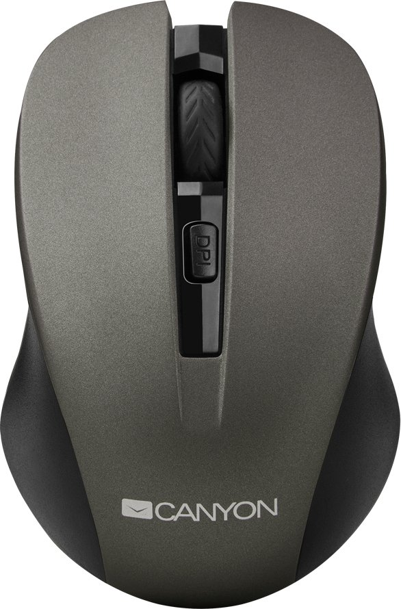 Мышь Canyon CNE-CMSW1 (серый) мышь canyon cne cms2 black