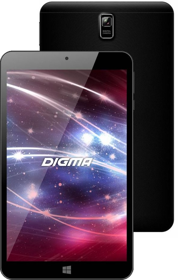 "Планшет Digma EVE 8800 3G (8""/1280x800/1024Mb/WIFI/Windows 10)"
