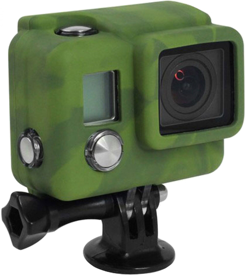 Чехол Xsories Silicone Cover для GoPro Hero 3 (хаки)