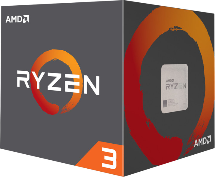 AMD Ryzen 3 1200 YD1200BBAEBOX bykski water cooled transparent acrylic cpu water cooling block 0 3mm microcutting micro waterway for amd ryzen amd 1 2 3 4