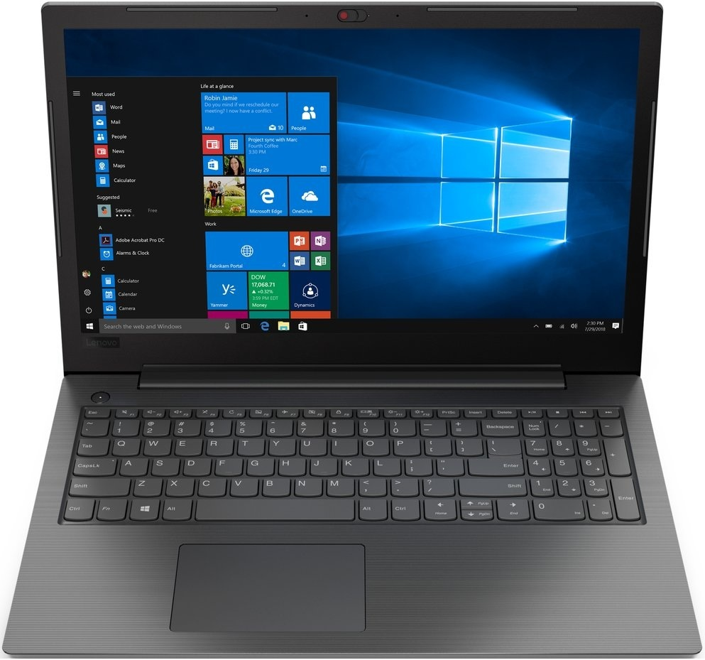 Ноутбук Lenovo V130-15IKB 81HN00EPRU (Intel Core i3 7020U 2300 Mhz/.6/1920х1080/4096Mb/500Gb HDD/DVD-RW/®  Graphics 620/WIFI/DOS (без ОС))