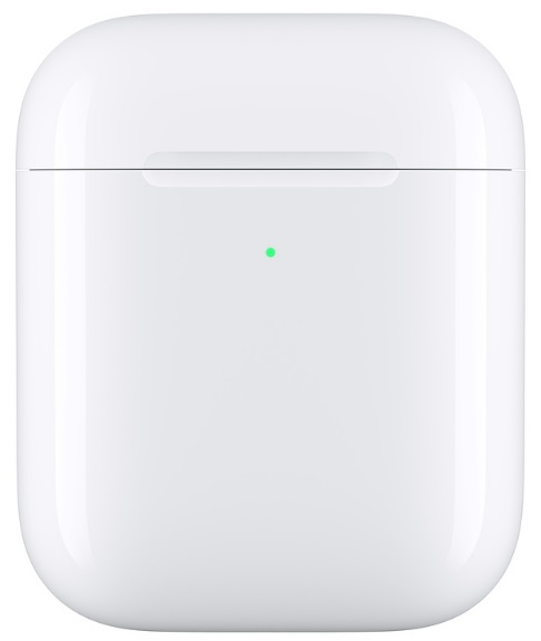 Apple Wireless Charging Case for AirPods (белый) беспроводной правый наушник apple airpods