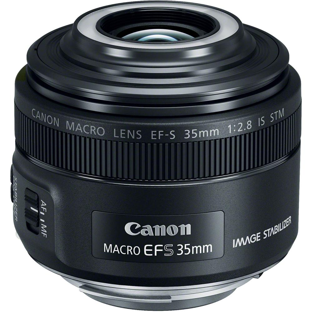 Объектив Canon EF-S 35 F2.8 IS STM MACRO (черный)